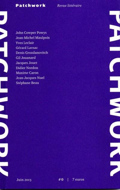 patchwork,revue litteraire,dufraisse,powys